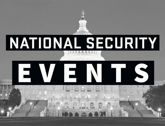 National Security Events