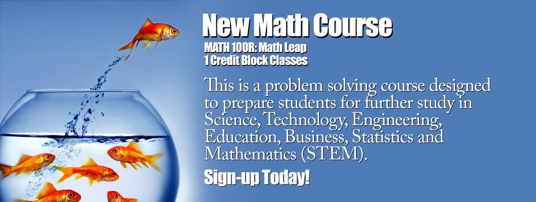Math 100R Course