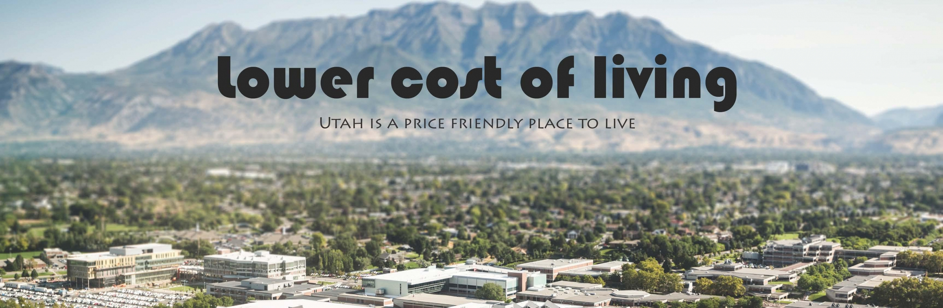 Utah is a price-friendly place to live