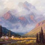 Gary Kapp, Return from the Hunt, c. 1970-1995, oil on canvas
