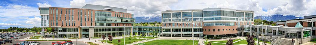 Wide view of UVU