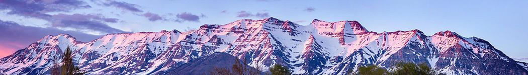 Wide View of Mount Timpanogos