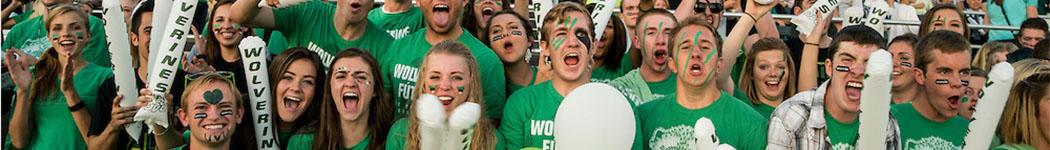 UVU Sports student section