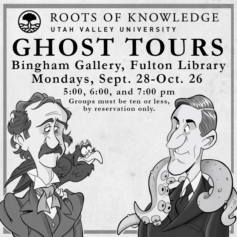 Uvu Halloween Party 2020 Celebrate Halloween with a Roots of Knowledge Ghost Tour   Fulton