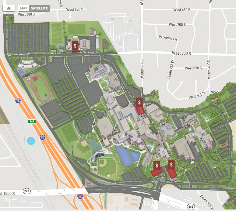 Map Resources Maps Utah Valley University