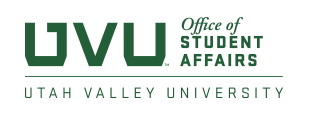 UVU department secondary logo