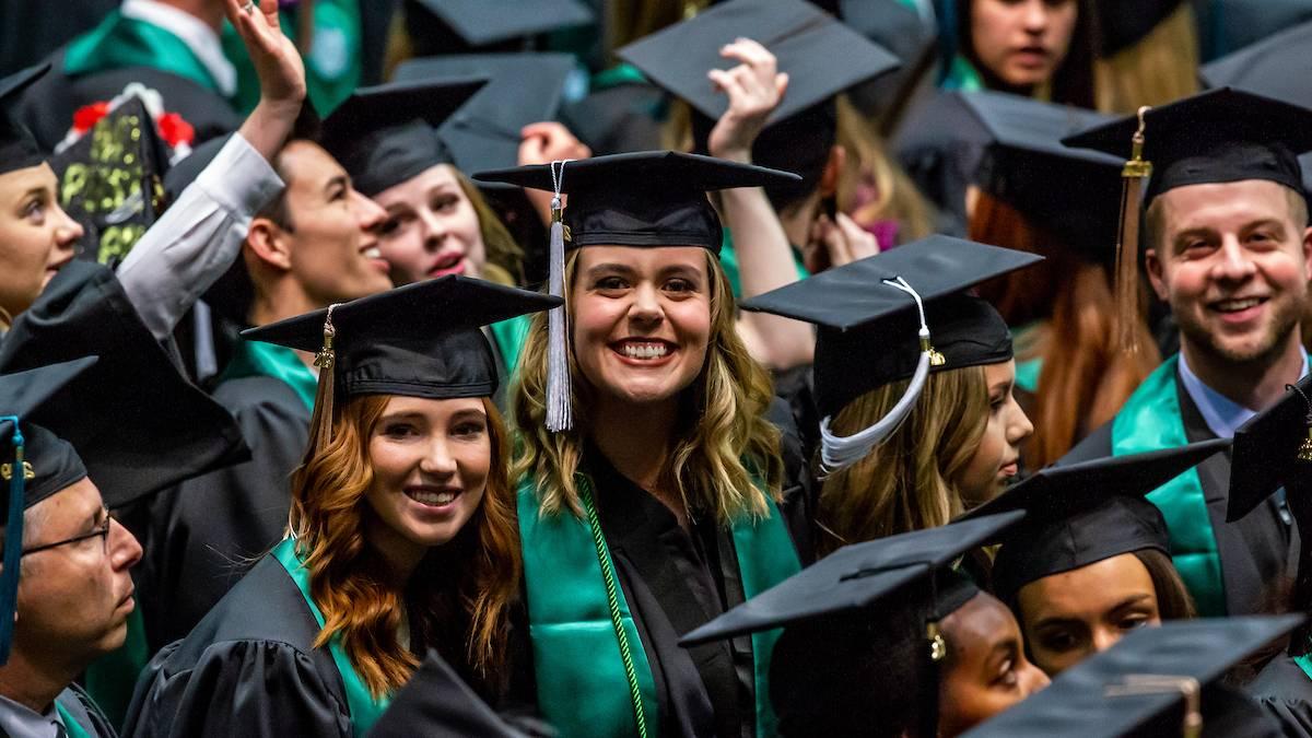 UVU's Commencement Features 5,953 Graduates, Including