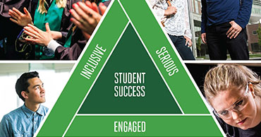 Inclusive, Serious, Engaged, Student Success