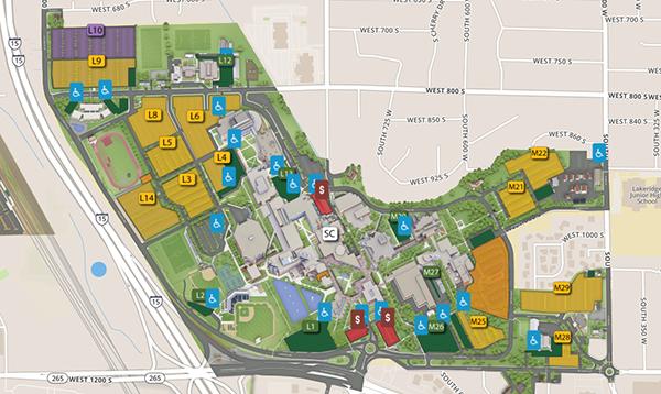 map of uvu campus Utah Valley Leadership Conference Student Leadership And Success map of uvu campus