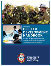 Cover of the 2nd Edition Officer Development Handbook