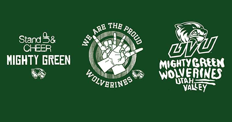Stand and Cheer Mighty Green Proud Wolverines